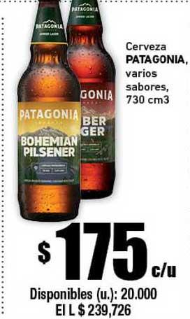 Cooperativa Obrera Cerveza Patagonia Vários Sabores