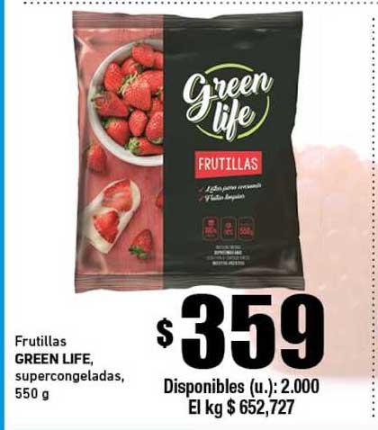 Cooperativa Obrera Frutilas Green Life