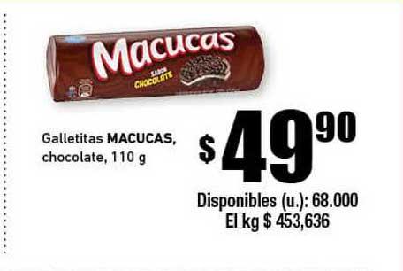 Cooperativa Obrera Galletitas Maucucas Chocolate