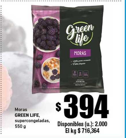 Cooperativa Obrera Moras Green Life