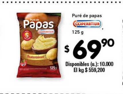 Cooperativa Obrera Puré De Papas Coperativa