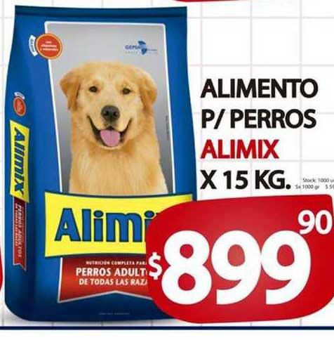 Supermercados Mariano Max Alimento P-perros Alimix
