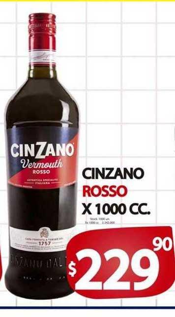 Supermercados Mariano Max Cinzano Rosso