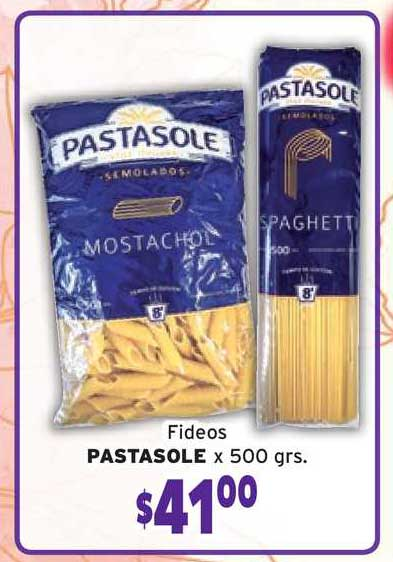 Borbotti Hipermercado Fideos Pastasole X 500grs.