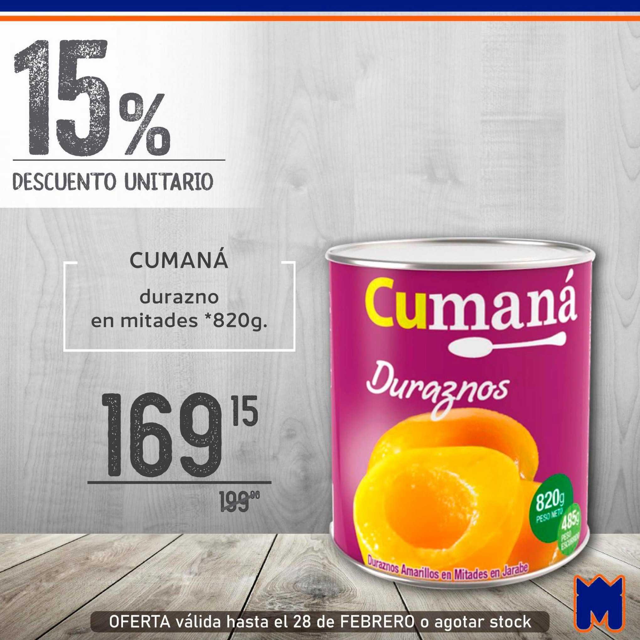 Supermercados Monarca Cumaná Durazno En Mitades