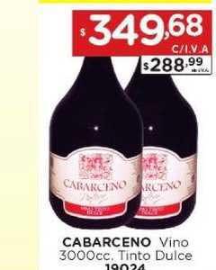 Hiper May Cabarceno Vino 3000cc. Tinto Dulce