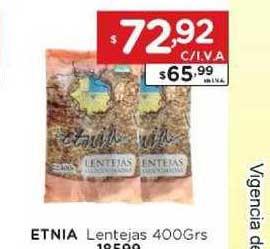 Hiper May Etnia Lentejas 400Grs