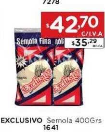 Hiper May Exclusivo Semola 400Grs