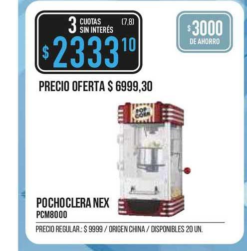 Supermercados Vea Pochoclera Nex PCM8000