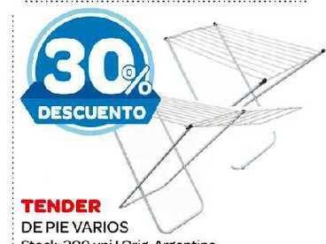 Carrefour Maxi Tender De Pie Varios
