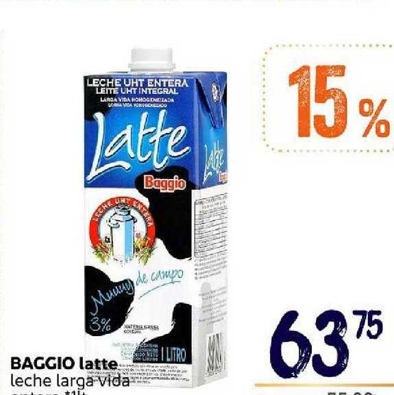 Supermercados Monarca Baggio Latte Leche Larga Vida