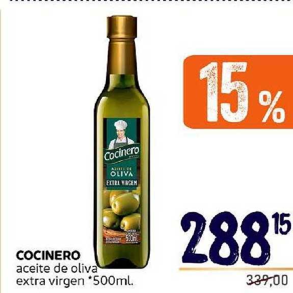 Supermercados Monarca Cocinero Aceite De Oliva Extra Virgen