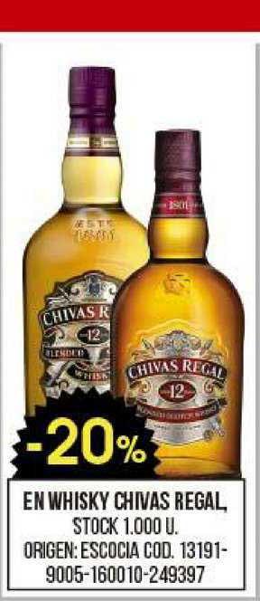 Coto En Whisky Chivas Regal