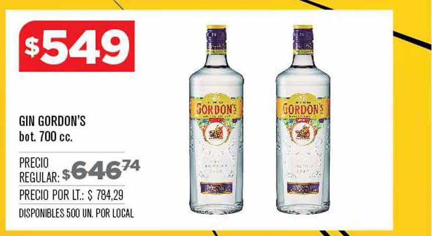 Supermercados Vea Gin Gordon's