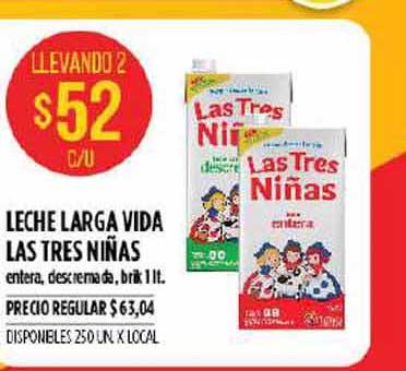 Supermercados Vea Leche Larga Vida Las Tres Niñas