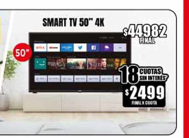 Supermayorista Vital Smart Tv 50