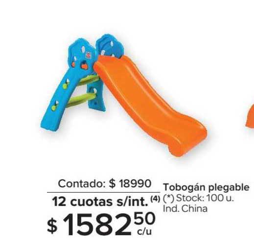 Carrefour Tobogán Plegable