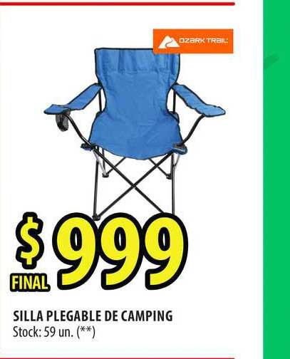 Punto Mayorista Silla Plegable De Camping