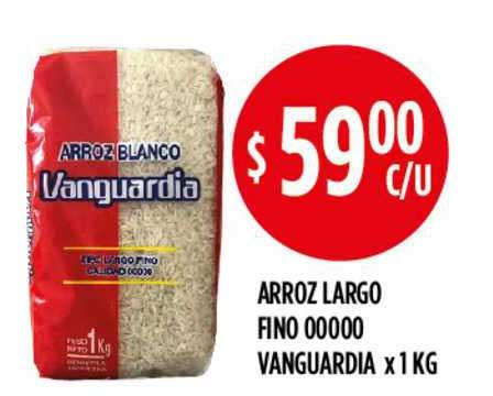 Supermercados Toledo Arroz Largo Fino 00000 Vanguardia X 1 KG