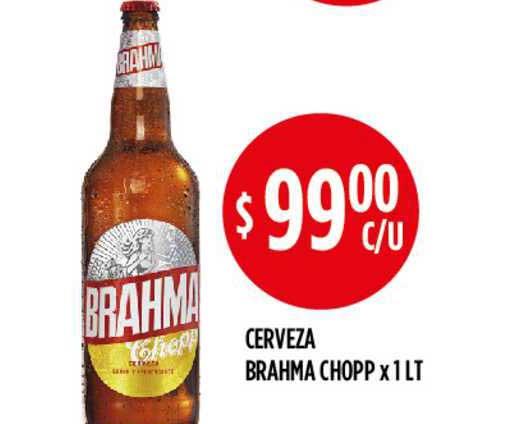 Supermercados Toledo Cerveza Brahma Chopp X 1 LT