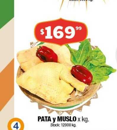 Cordiez Pata Y Muslo X Kg.
