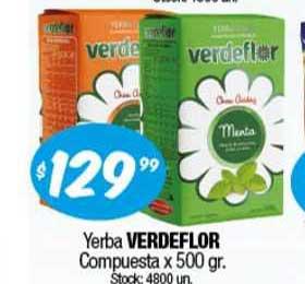 Cordiez Yerba Verdeflor Compuesta X 500 Gr.