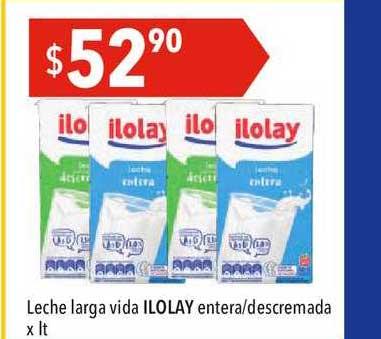 Hergo Leche Larga Vida Ilolay Entera-descremada