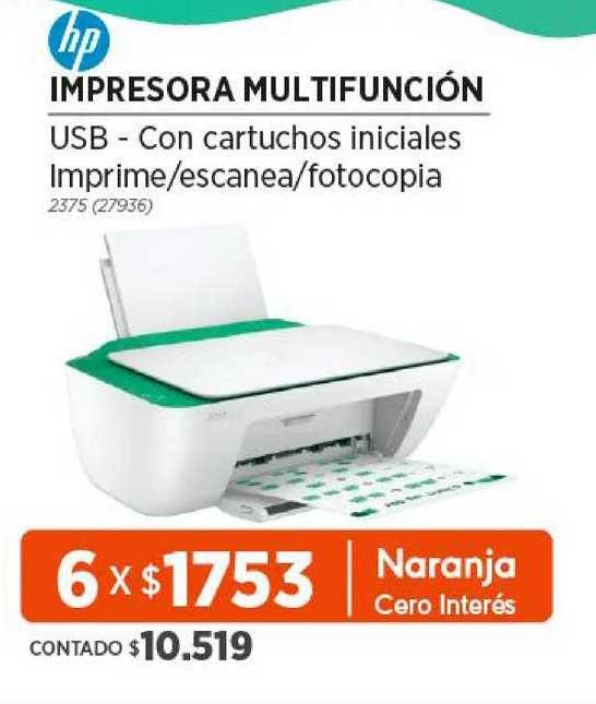 Genesio Hogar HP Impresora Multifunción