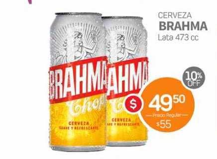 Super Alvear Cerveza Brahma Lata 473 Cc