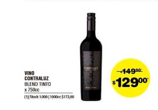 ATOMO Conviene Vino Contraluz Blend Tinto X 750cc