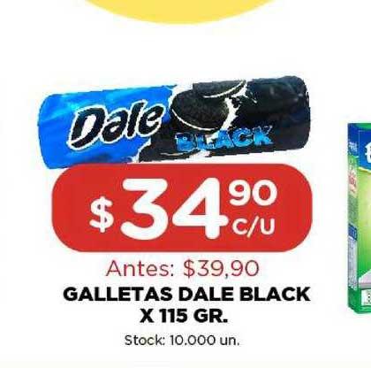 Super Mami Galletas Dale Black