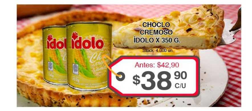 Supermercados Tadicor Choclo Cremoso ídolo