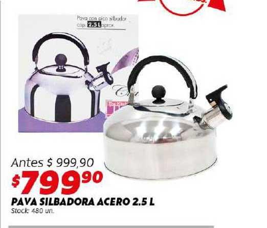 Ferniplast Pava Silbadora Acero 2.5 L