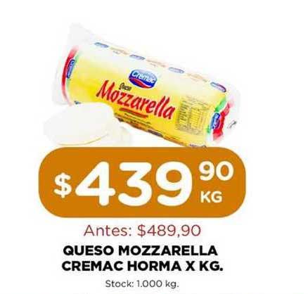 Super Mami Queso Mozzarella Cremac Horma