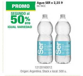 Jumbo Agua Ser X 2,25 Lt