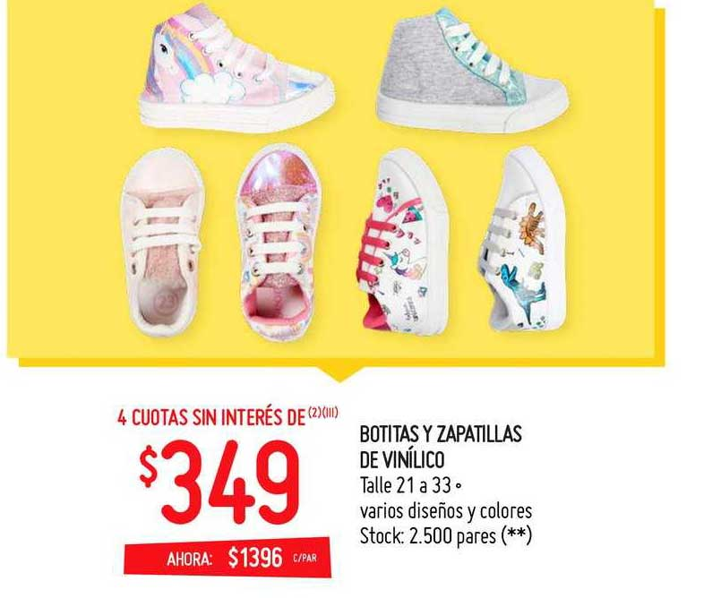 Walmart Botitas Y Zapatillas De Vinílico