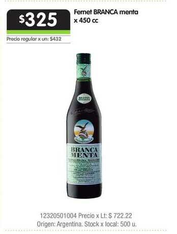 Jumbo Fernet Branca Menta
