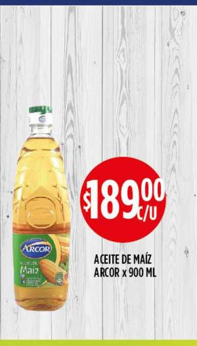 Supermercados Toledo Aceite De Maíz Arcor X 900 ML
