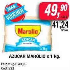 Maxiconsumo Azucar Marolio X 1 Kg.