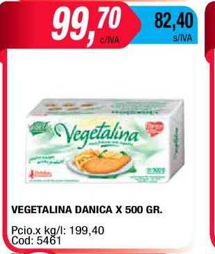Maxiconsumo Vegetalina Danica X 500 GR.
