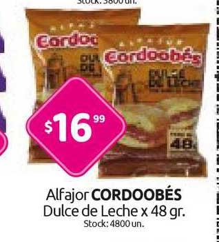 Cordiez Alfajor Cordoobés Dulce De Leche