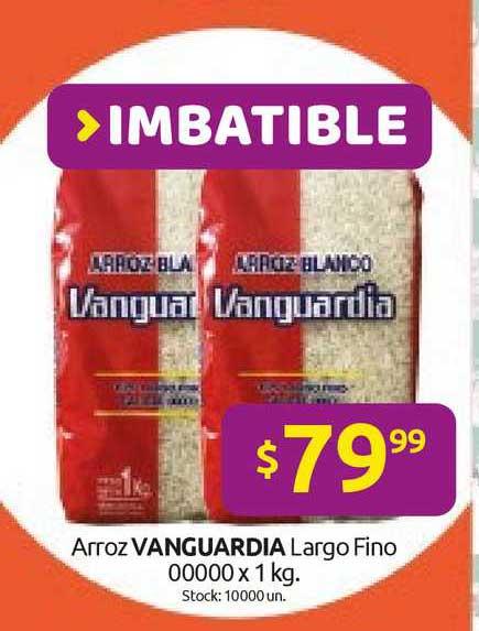 Cordiez Arroz Vanguardia Largo Fino