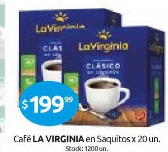 Cordiez Café La Virginia En Saquitos