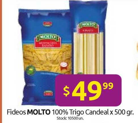 Cordiez Fideos Molto 100% Trigo Candeal