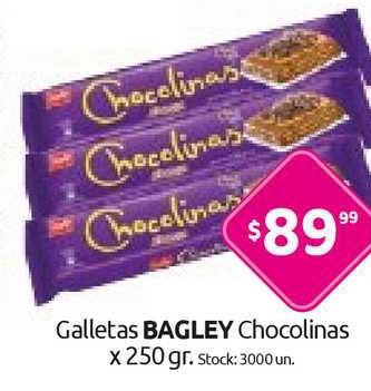 Cordiez Galletas Bagley Chocolinas