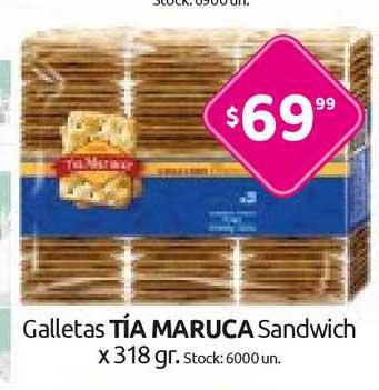 Cordiez Galletas Tía Maruca Sandwich