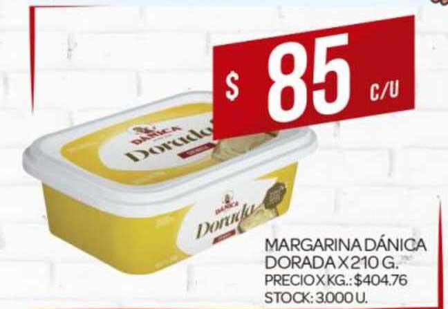 Supermercados DIA Margarina Dánica Dorada X 210G