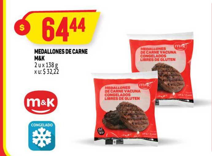 MAKRO Medallones De Carne M&k