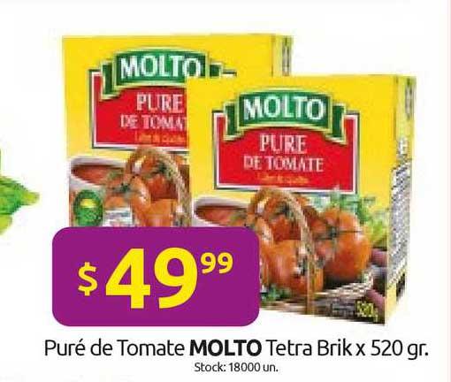 Cordiez Puré De Tomate Molto Tetra Brik