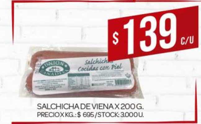 Supermercados DIA Salchicha De Viena